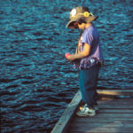 Click on the Image of the Girl Fishing Mindfully to Subscribe